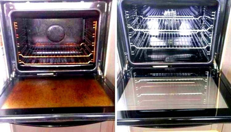 هذي هي طريقة باش كنظف فرن كهربائي ديالي بلا تعب ولا جهد وكيولي يشعل بحال جديد Double Wall Oven Wall Oven Toaster Oven