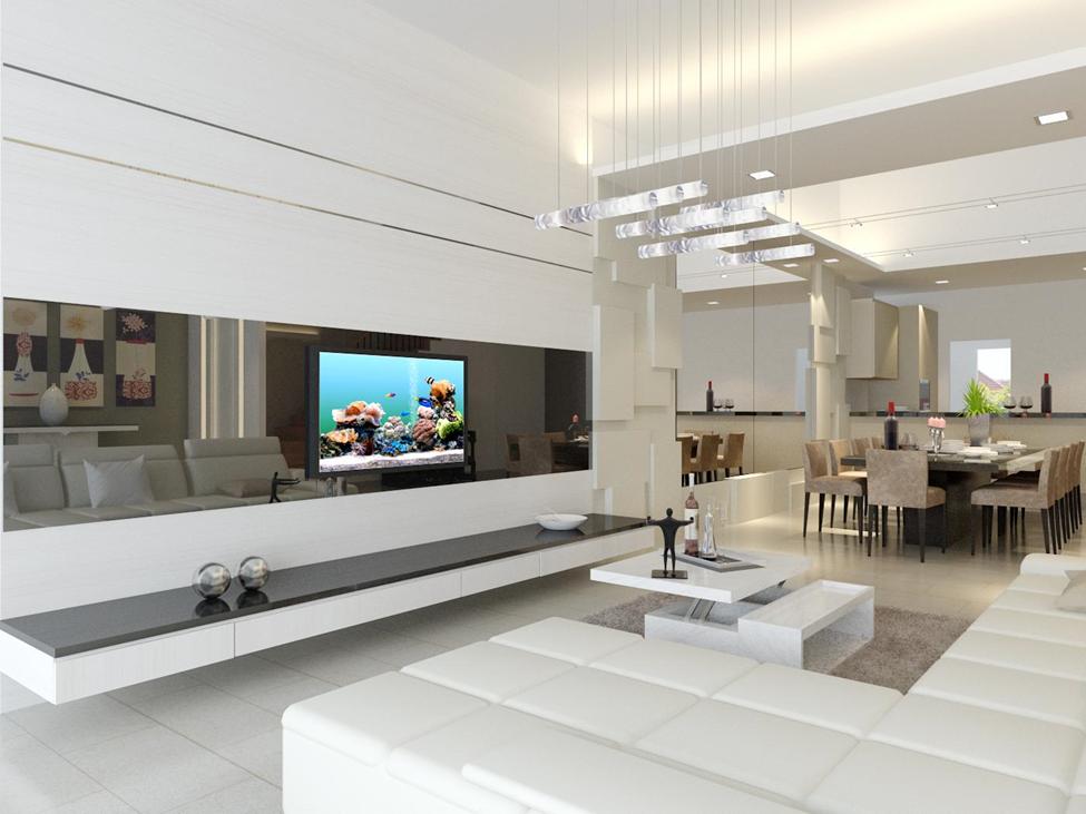 Finest Interior Designs By Mills Design And Associates Pte Ltd Condo Interior Living Room Design Modern Living Room Partition Design