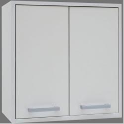 Kinderzimmer – Hängeschrank Felipe 11, Farbe: Weiß – Abmessungen: 36 x 100 x 30 cm (H x B x T) Stein