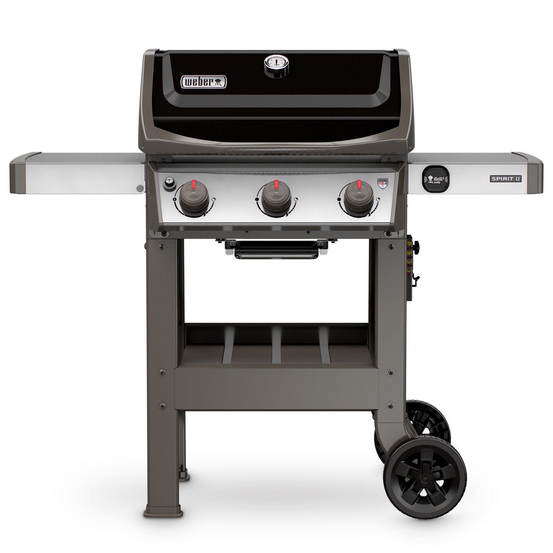 Weber Spirit Ii E 310 Propane Gas Grill Black Walmart Com Best Gas Grills Natural Gas Grill Gas Grill