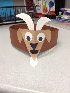 preschool goat craft google search abc preschool theme