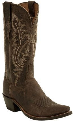 b94e1294b36 Lucchese M5002.74 Womens Chocolate Madras Goat Boots | OLD GRINGO ...