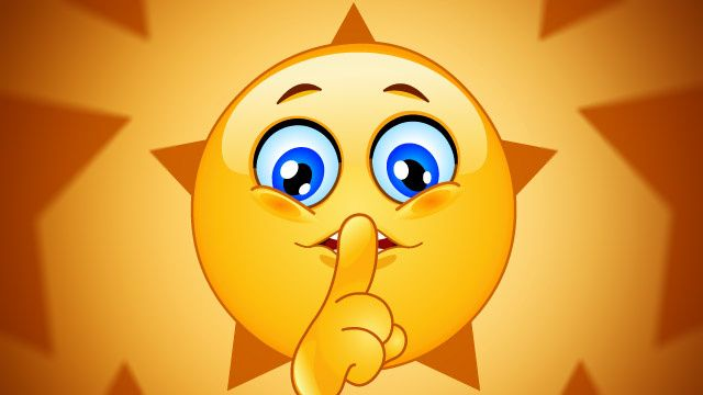 Shhh Keeping Quiet May Help You Achieve Your Goals Emoticons Emojis Emoticon Faces Love Smiley