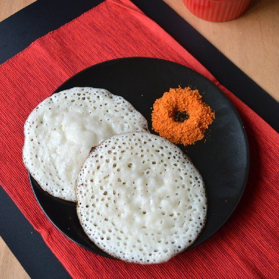 Vegan Flattened Rice Pancakes. Soft and fluffy. You will love them.