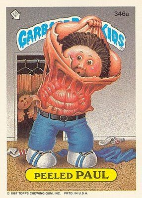 Mrs Readerpants Retro 80s Flashback What I Read Back Then Garbage Pail Kids Garbage Pail Kids Cards Kids Stickers
