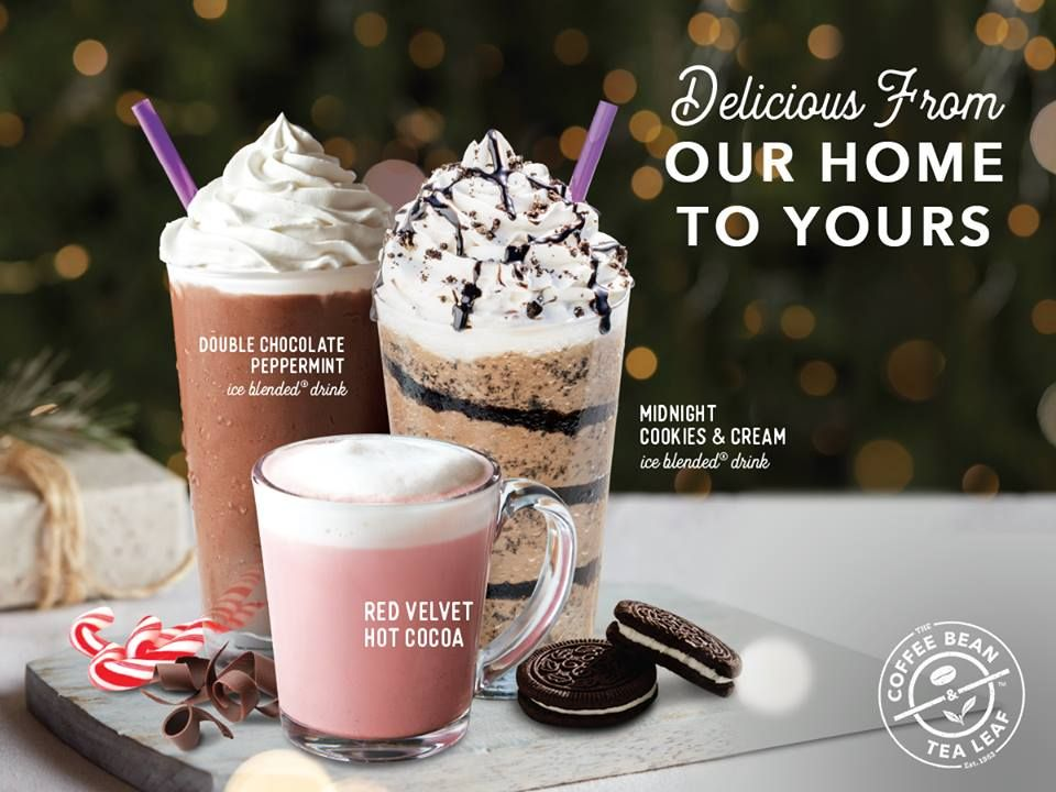13 Nov 2018 Onward The Coffee Bean Tea Leaf New Beverage On November 2018 Tea Leaves Cocoa Tea Midnight Cookies