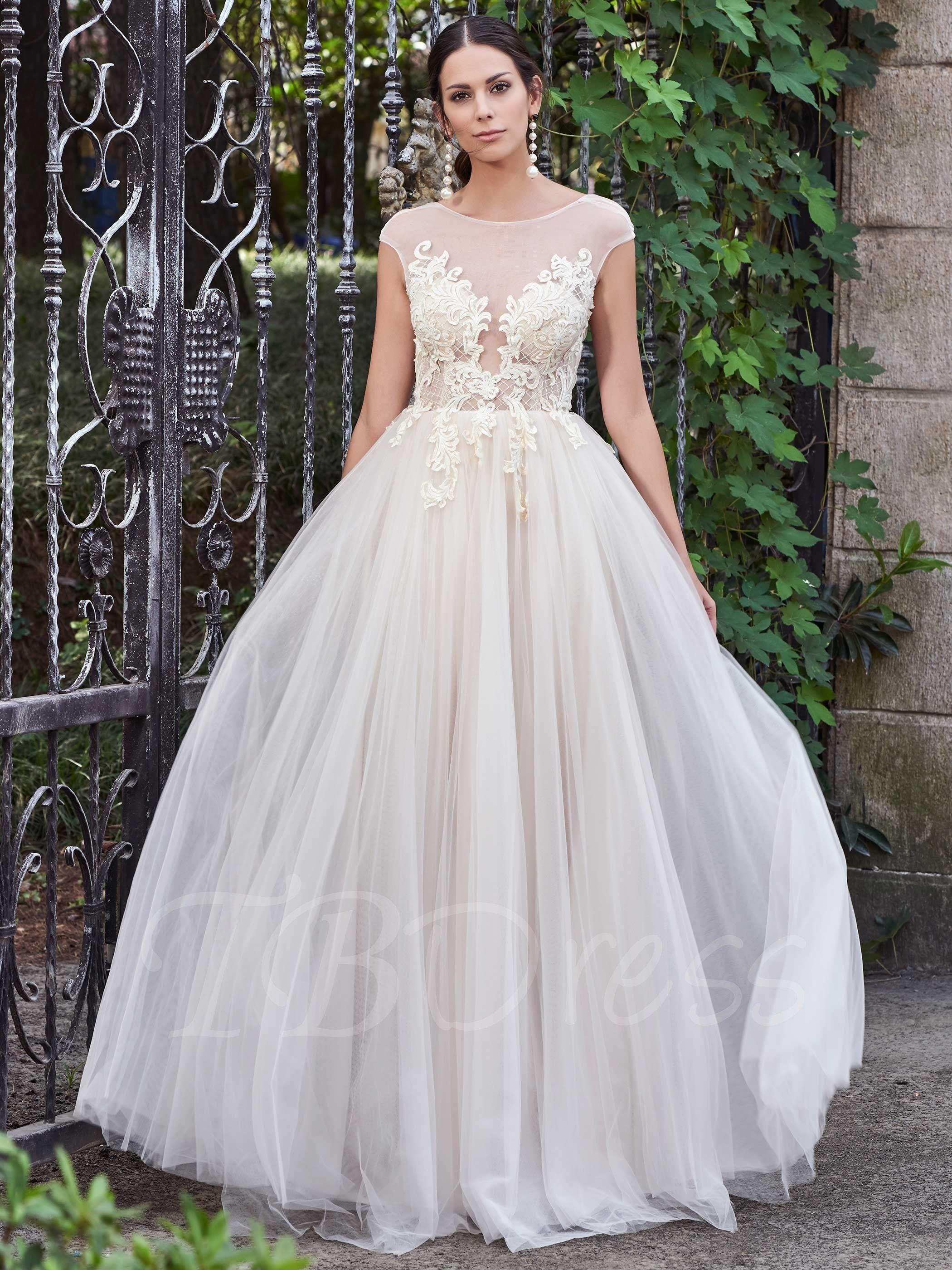 17++ Scoop neck wedding gown ideas