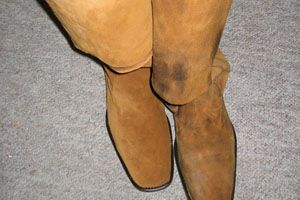 covering existing shoes instead of spats  boots diy
