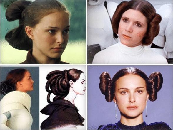 Padme Amidala Hair Tutorial Iles Formula Star Wars Hair Princess Leia Hair Hair Styles