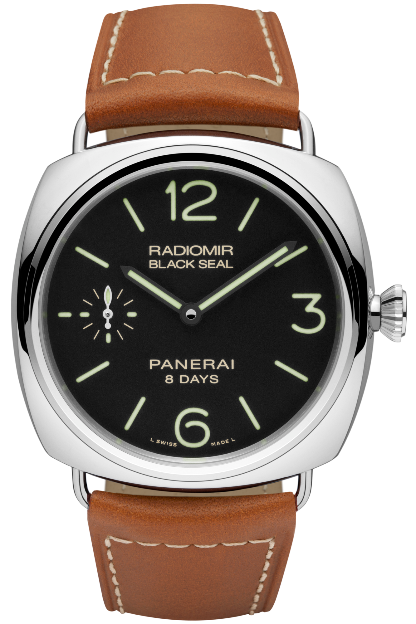 b95270f35e0c Radiomir Black Seal 8 Days Acciaio - 45mm - Panerai watch