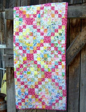 Scrappy Trip Around The World Quilt A Vintage Delight Quilting Crafts Quilts Quilt Patterns Free