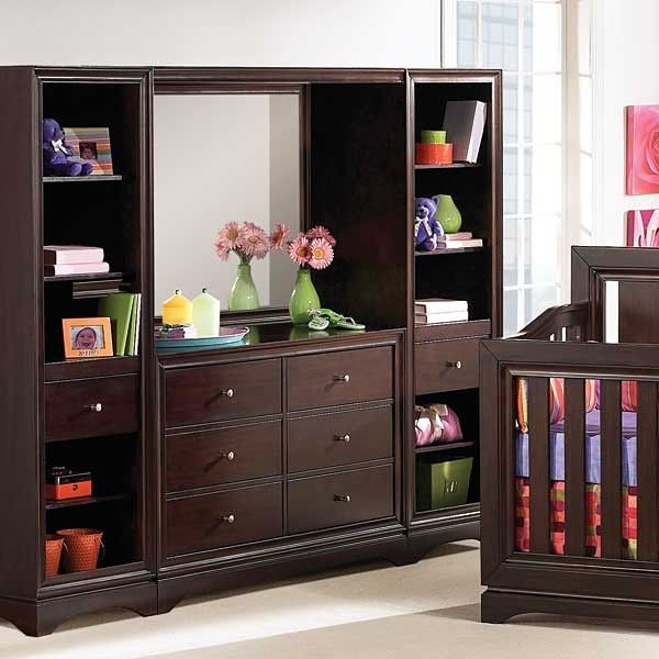 Price is for Deco Bridge (Lighted) only. Shown here with the Deco 6 Drawer Dresser and two Deco bookcases. Please contact store for details.  Clearance Price: $137.99