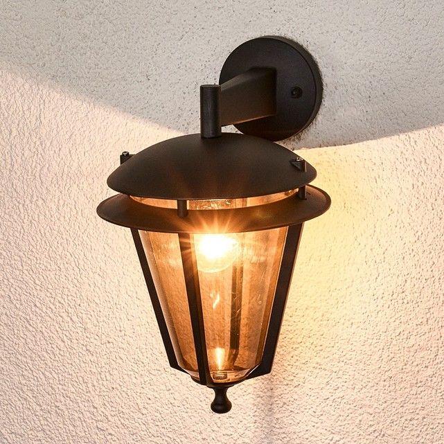 L?applique du0027extérieur de la gamme Doron évoque une lanterne et a un