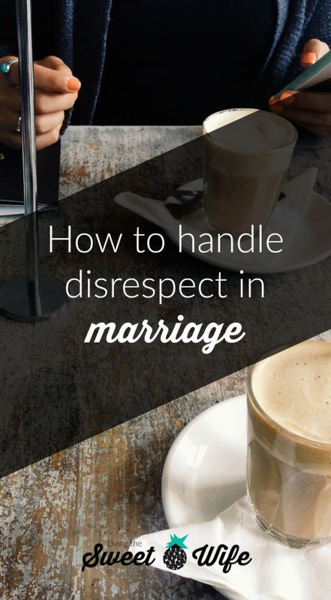 Disrespect in marriage can go both ways. Women can react to disrespect from their husbands in many ways. I'm here to share a few positive ways women can react to disrespect in their marriages in order to handle it well and steer their marriage in the direction of grace and kindness again.