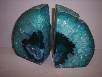 Royale Minerals bookends