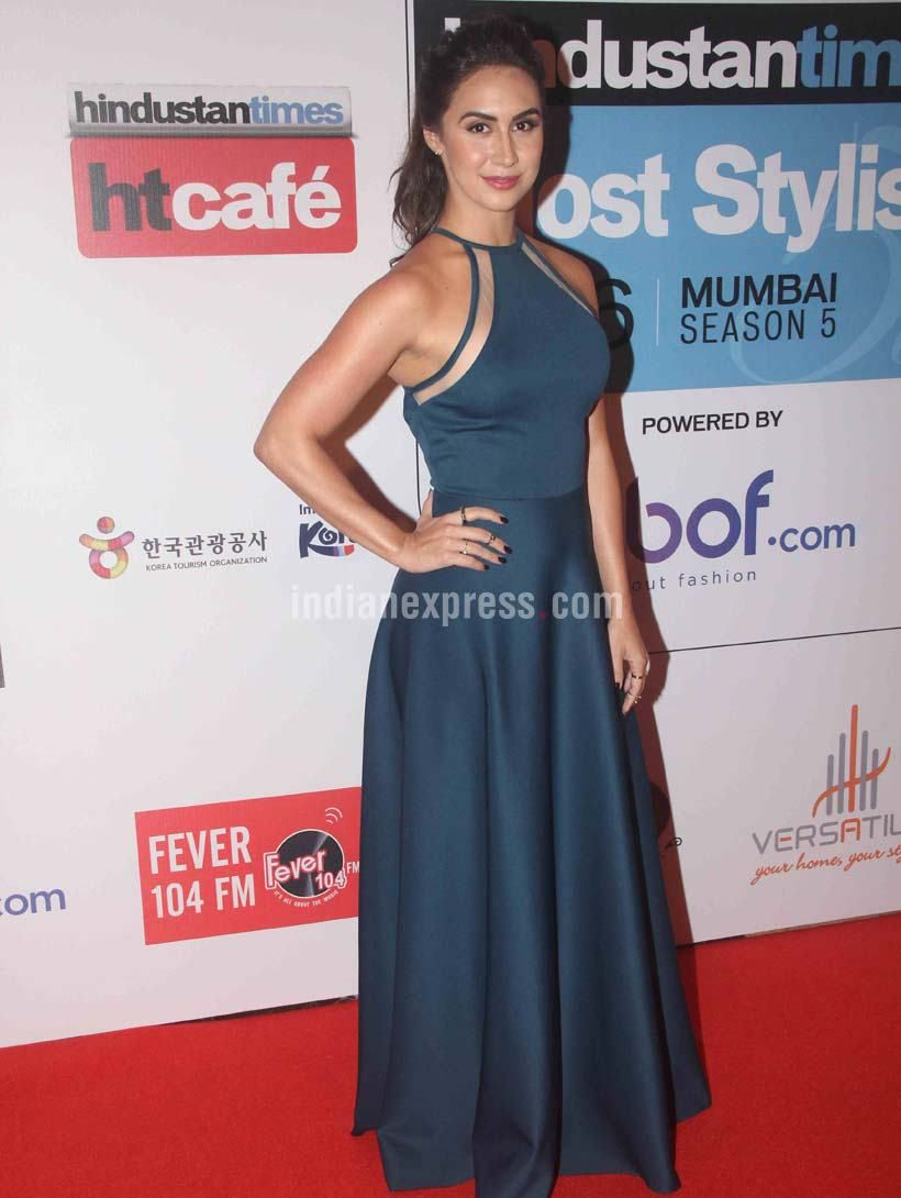 Lauren Gottlieb At Hindustan Times Most Stylish Awards 2016 Bollywood Fashion Style Beauty Hot Sexy
