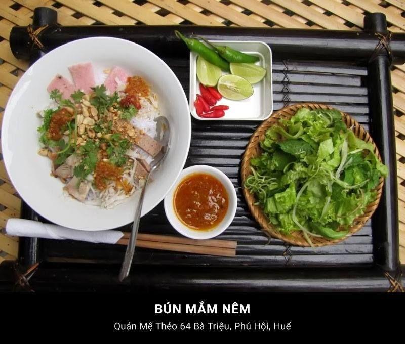 Bún Mắm Nêm - Huế #Travel #VietNam #Hue #Dacsan