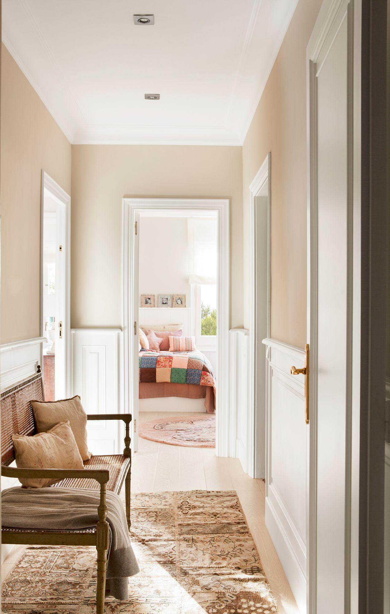 Con pintura recibidor pinturas para dormitorios - Ideas para pintar un piso ...