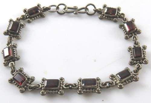 shopgoodwill.com: Antique Vintage Ruby Bracelet