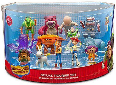 Disney Pixar Toy Story 3 Movie Exclusive Deluxe 14 Piece Mini Pvc Figure Collector Set Pixar Toys Disney Toys Toy Story 3