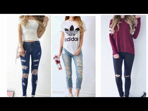 2bbd168dd6 Ropa De Moda Juvenil 2016 - YouTube