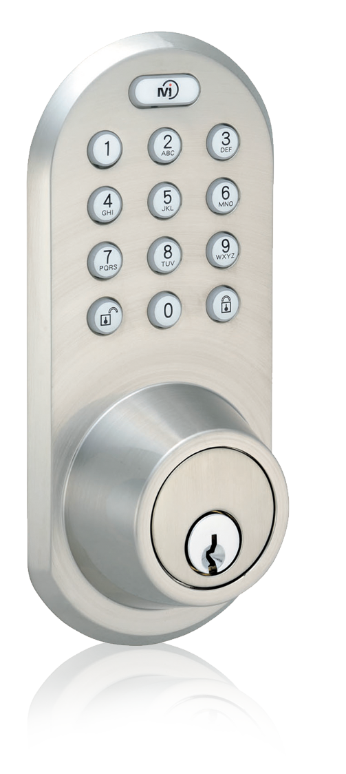 Keyless Entry Rf Remote Control Fob And Keypad Deadbolt Door Lock Qf