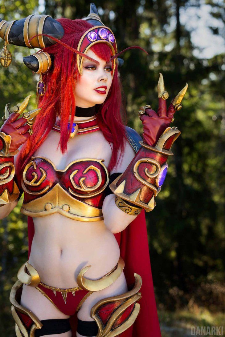 World of Warcraft Alexstrasza Cosplay ! by KawaiiTine  df75cfced037