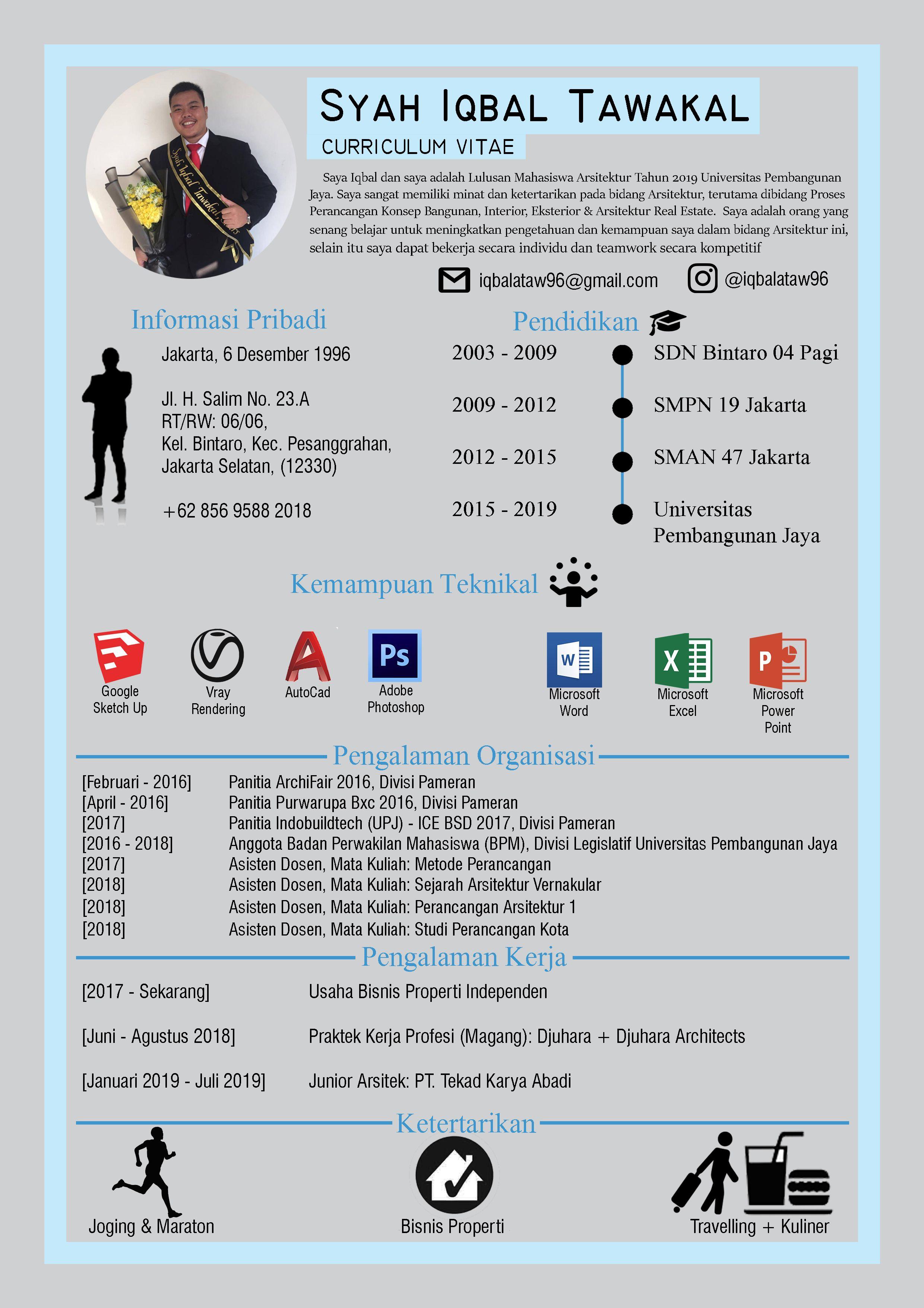 Indonesian Curriculum Vitae Mahasiswa, Pengetahuan, Belajar