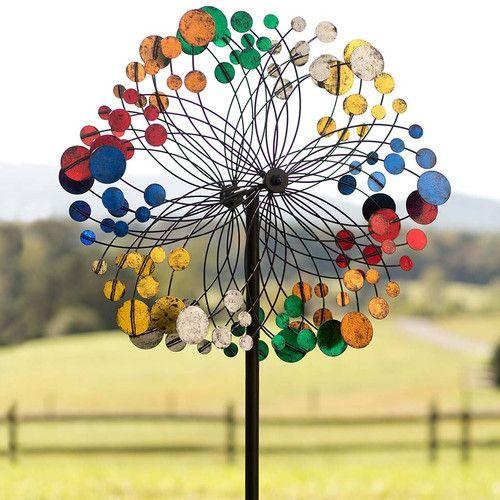 Found it at Wayfair - Bubbles Wind Spinner | Garden | Pinterest ...