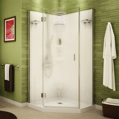 Maax 105672 000 129 101 Maax Shower Solution Daylight Neo Angle 36