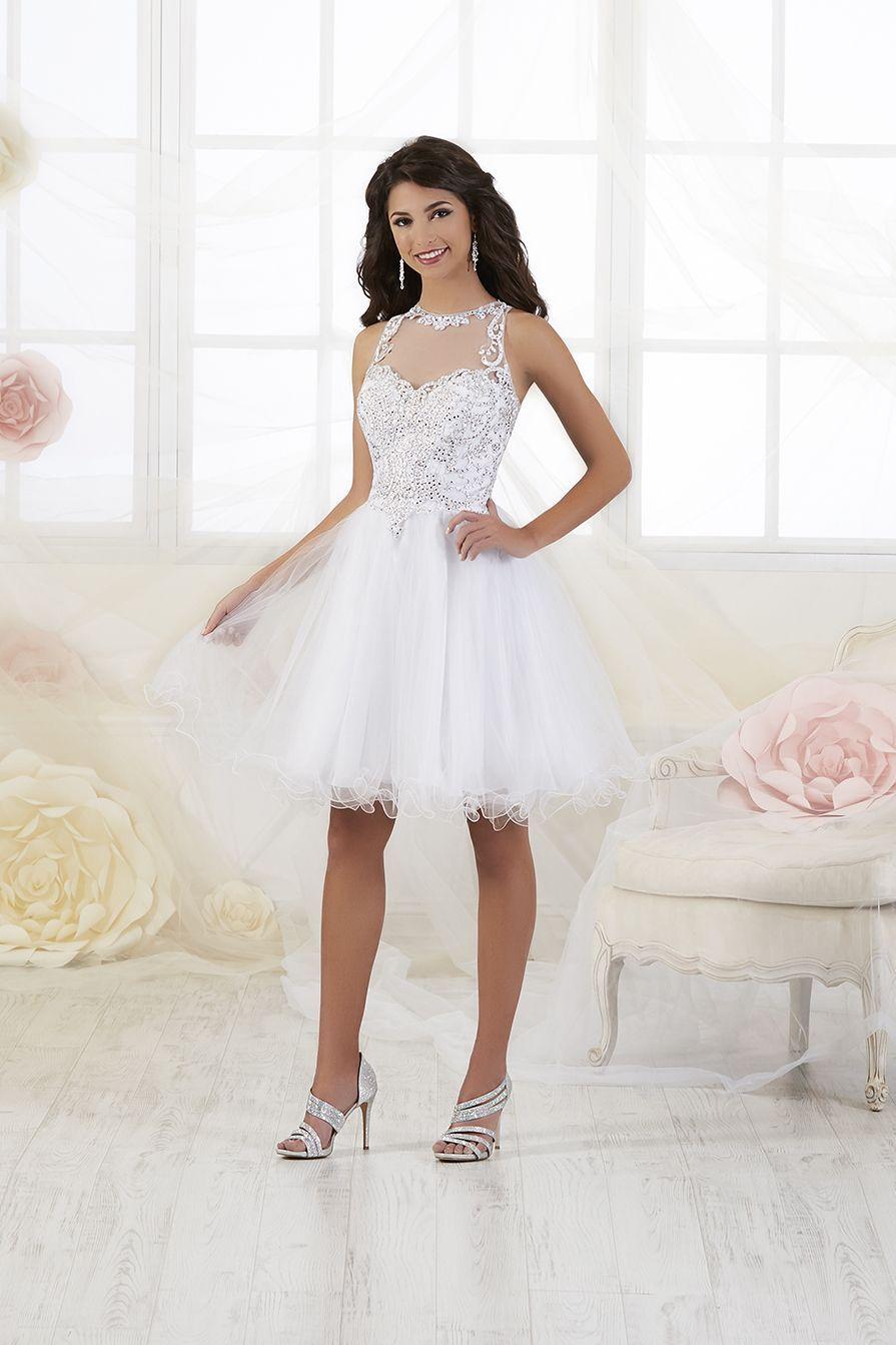 5+Cheap White Quinceanera Dama Dresses