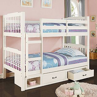 Twin Over Twin Bed With Storage Bunk Beds With Storage Bed Storage Twin Bunk Beds