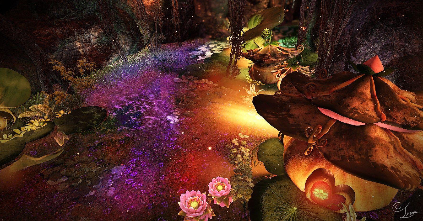 💕Irene's Wonderland💫  천년에 한번 세개의 푸른달이 떠올라   달의 꽃이 피면  거울 속 또 다른 세상의 문이 열리고   하엘과 물의 정령들이 깨어나리라.