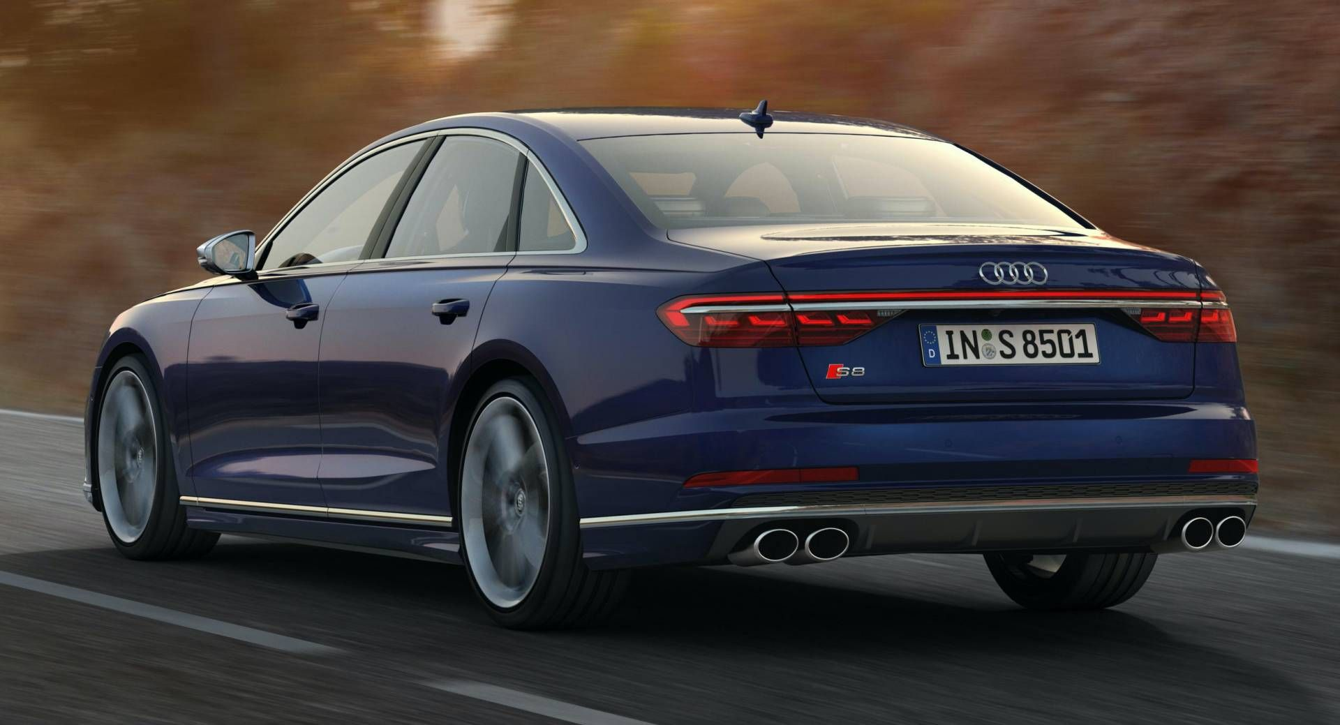 2020 Audi S8 Coming To LA, A8 TFSI e PHEV Confirmed For U