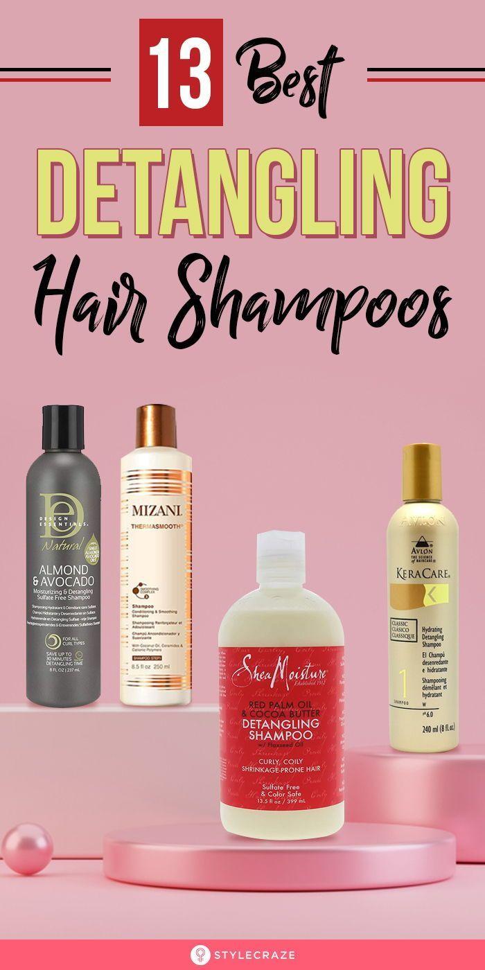 13 Best Detangling Hair Shampoos