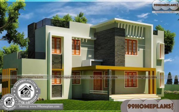 Two storey homes for small blocks contemporary house kerala best modern design also plan images floor plans rh pinterest