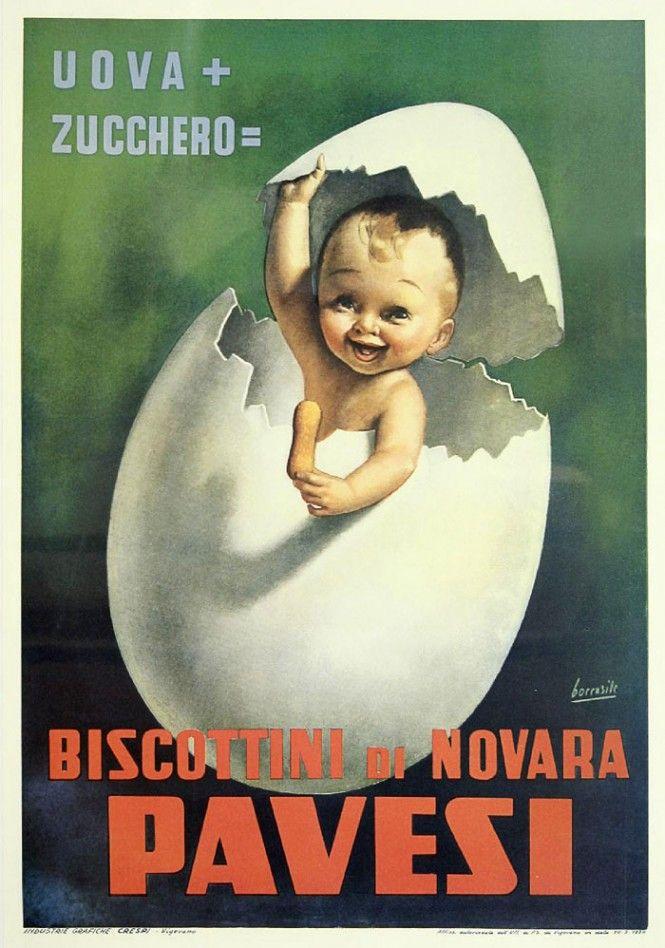 Favoloso Poster pubblicitari con i bambini, Gino Boccasile - Children in  UR34