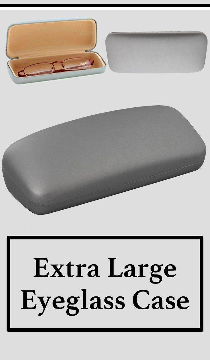e30fab4036c Extra Deep Large Metal Eyeglass Case