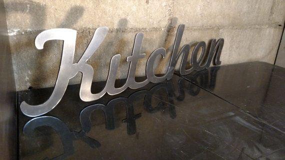 Sale Details Below Metal Kitchen Sign That By Highcountryind