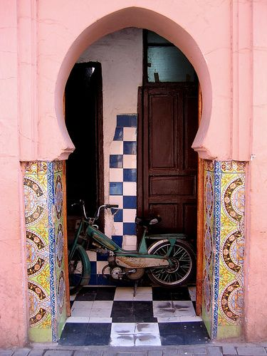 moroccan pink.