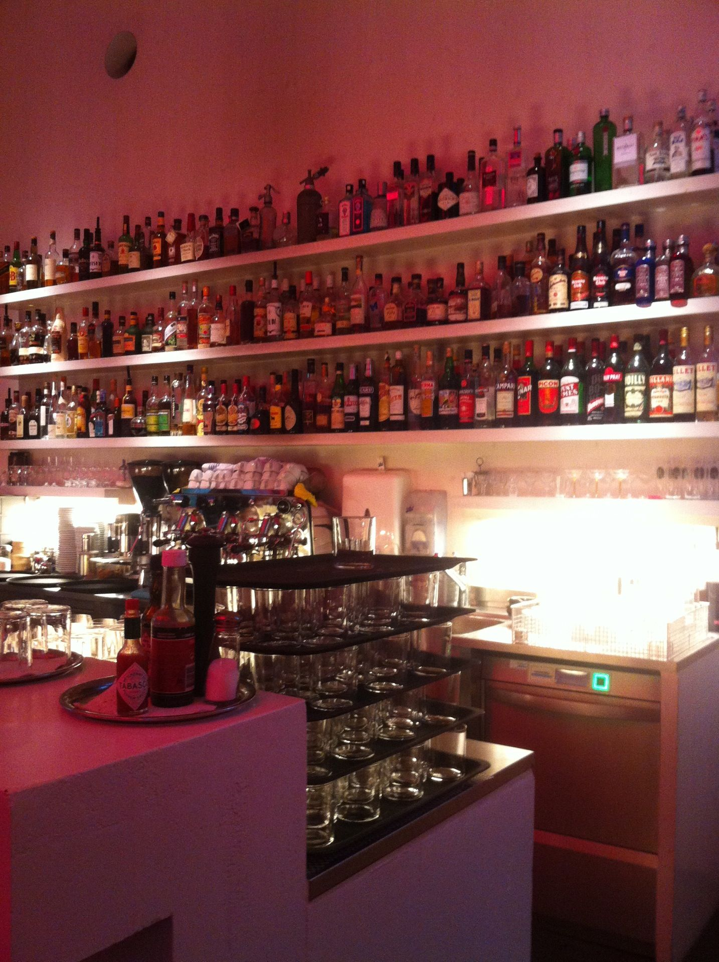 Zum Kuss Caffe Kultur Bar Liquor Cabinet Basel Home Decor