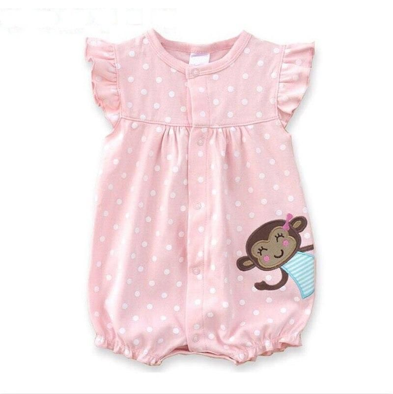 beab88e4b805 Baby Rompers Summer Baby Girls Clothing Cartoon Newborn Baby Clothes ...