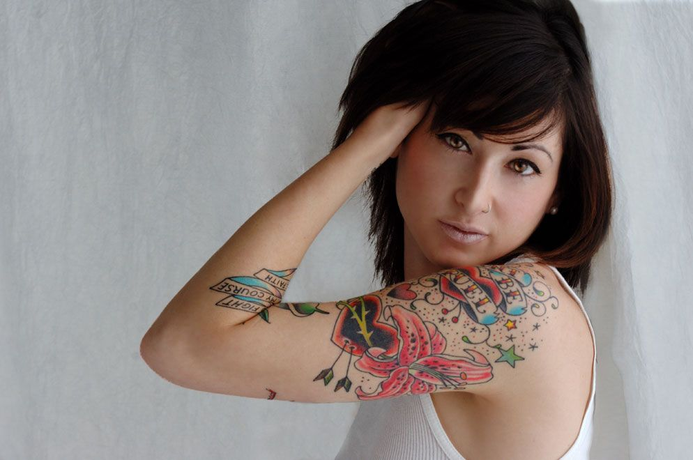 Ink's okay, however, she's outstandingly gorgeous.