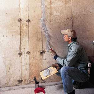 Fixing Cracks In Concrete Walls These Types Of Cracks Typically Don T Threaten The Structural Repair Cracked Concrete Concrete Walls Diy Fix Cracked Concrete