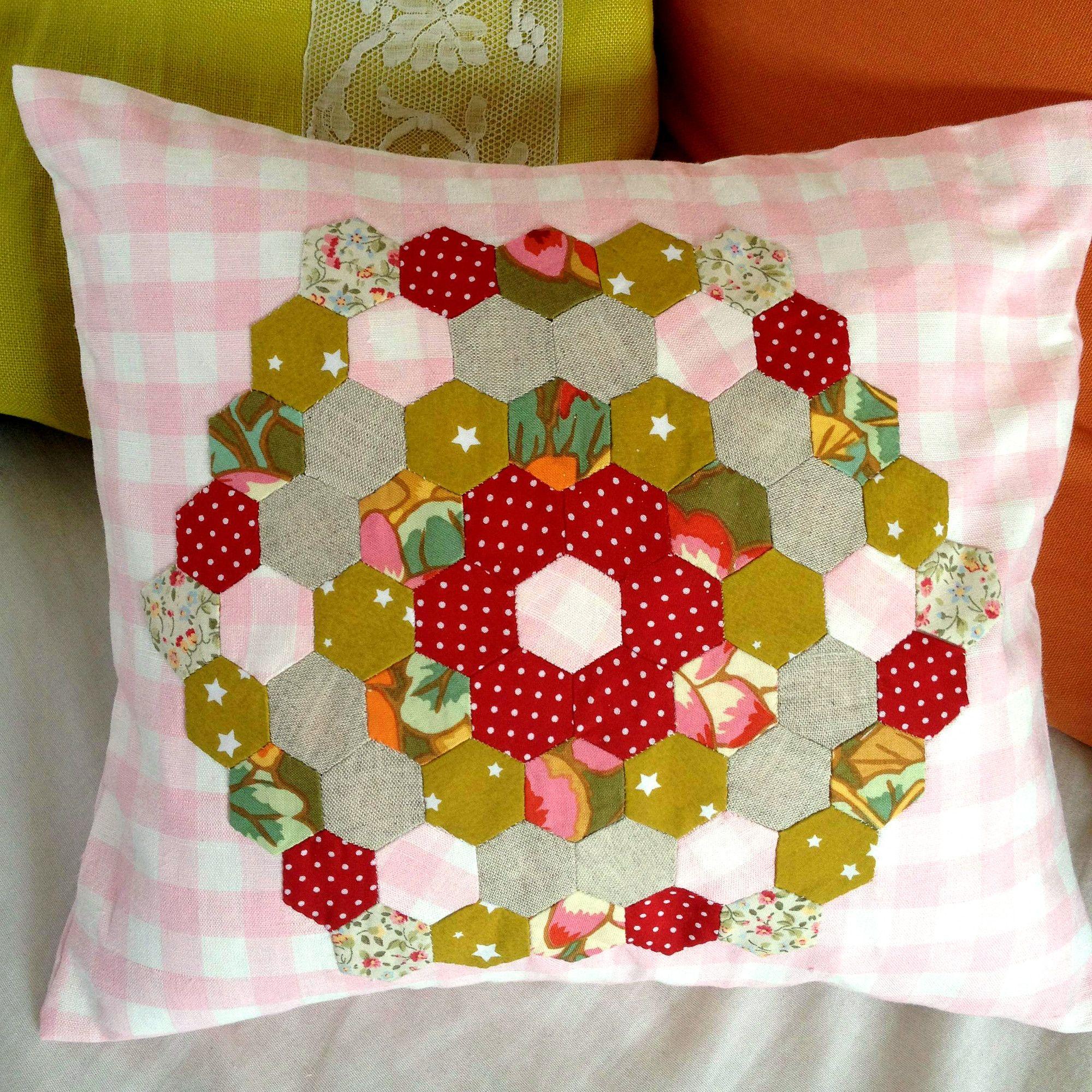 Jardin de grand-mère Patchwork | Ma petite couture | Pinterest ...