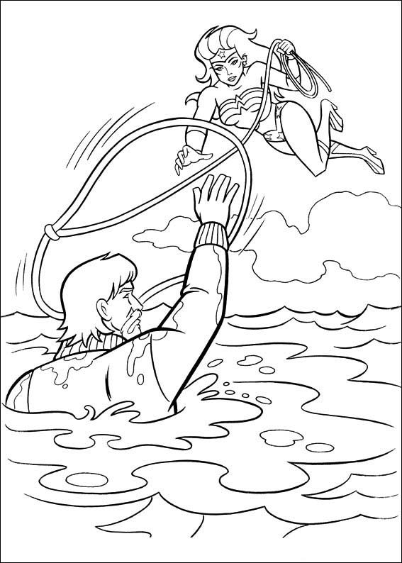 Dibujos para Colorear Wonder Woman Mujer Maravilla 11 | Dibujos para ...
