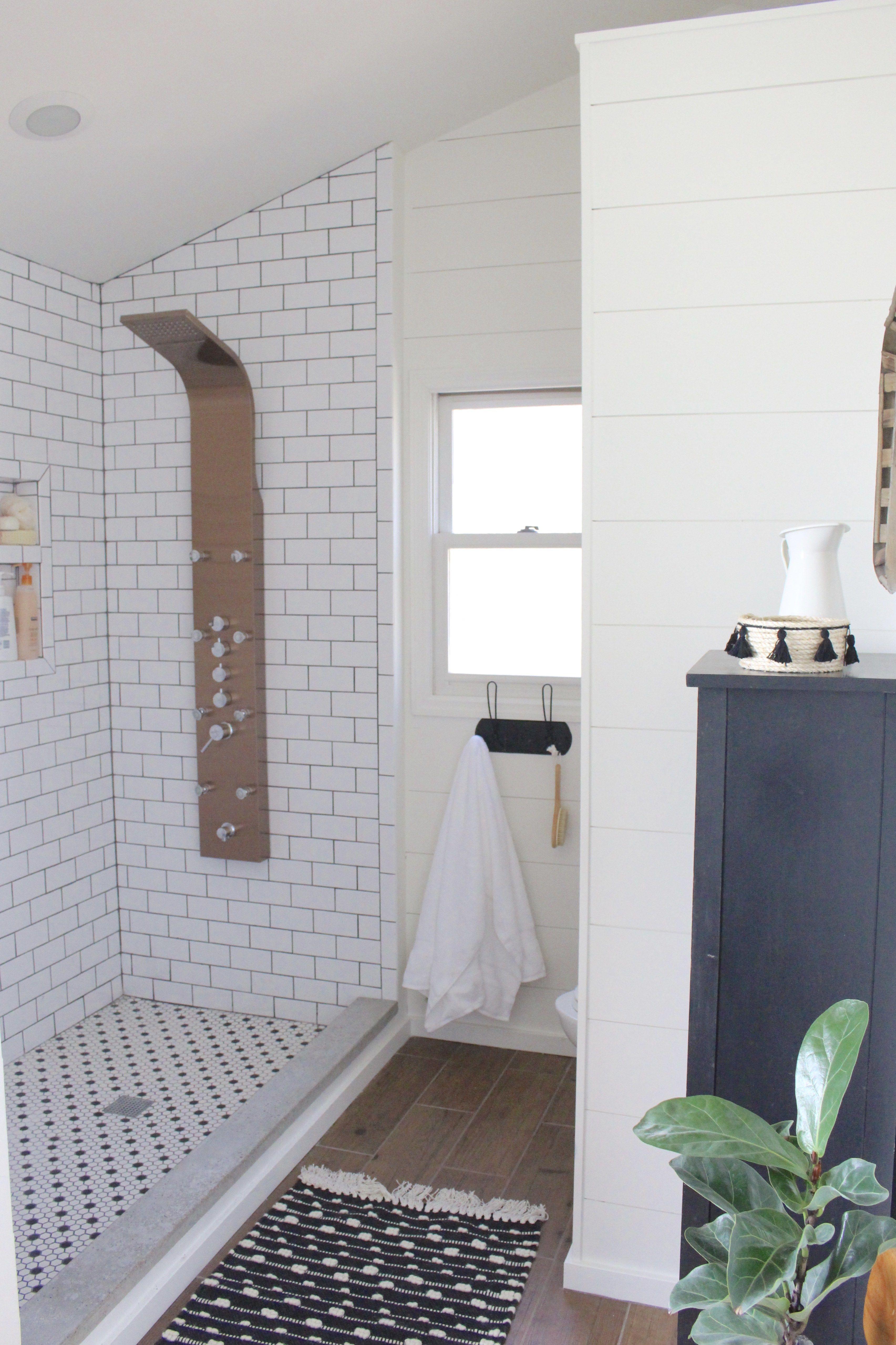 Master Bathroom Renovation- How to achieve a farmhouse style ...