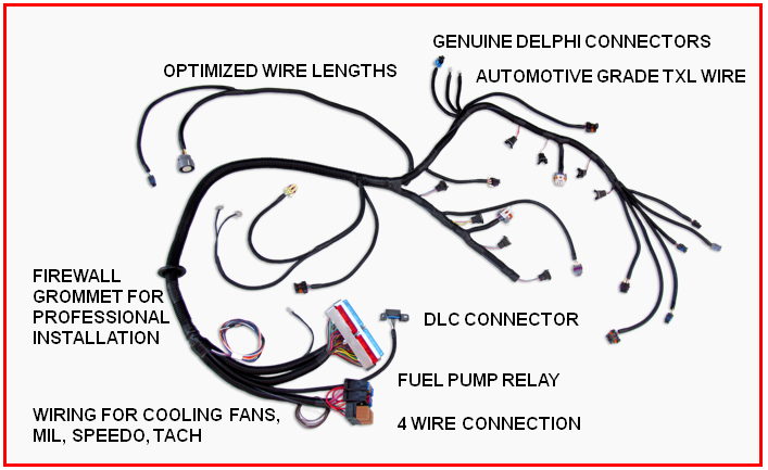 custom wiring harness for s10 swap wiring harness chevy ls engine  ls swap  ls engine  swap wiring harness chevy ls engine