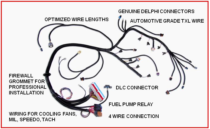 Swap Wiring Harness | el es juan | Ls swap, Ls engine swap, Engine swap