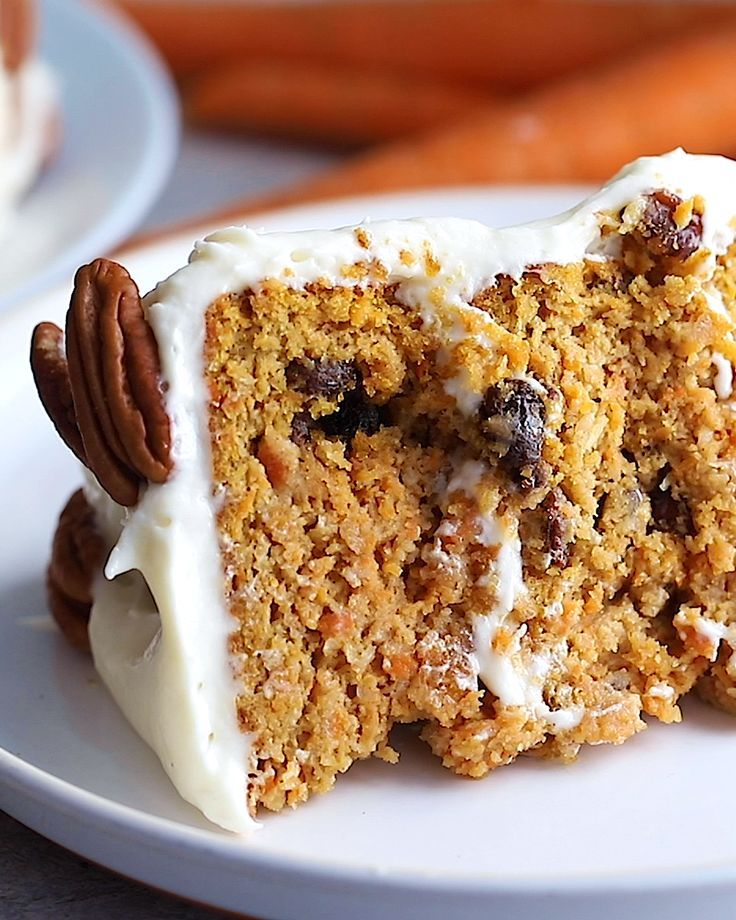 The Best Healthy Carrot Cake You'll Ever Eat (gluten Free